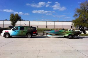 Custom boat and truck graphics