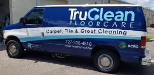 Bethesda Vinyl Printing Vehicle Wrap Tru Clean 300x146