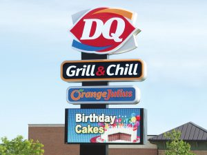 Washington, DC Lighted Signs 0092 Dairy Queen Bendsen Sign Graphics W 19mm 80x176 Bloomington IL 101718 1 300x225