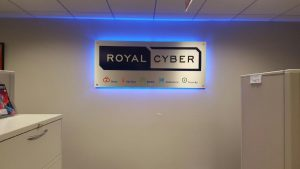 Washington, DC Lighted Signs Royal Cyber Indoor Lobby Sign Backlit 300x169